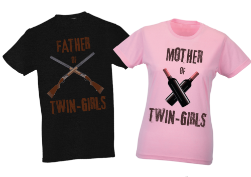 ZWEIHORN_SHOP_Father_Mother_ofTwins_T-Shirt